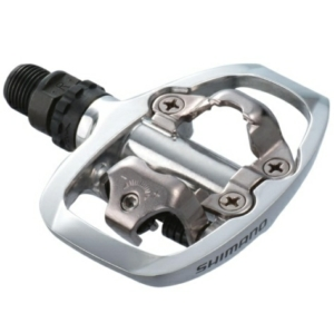 Shimano A520 SPD Touring Pedals Silver Top View