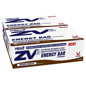 ZipVit Sport Zv8 Energy Bars 55g Uncoated Chocolate