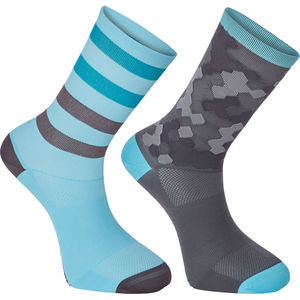 Madison Sportive Long Sock Twin Pack