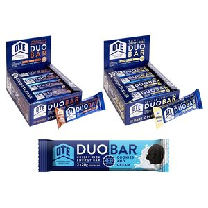 OTE Duo Energy Bar Box of 12 x 65g