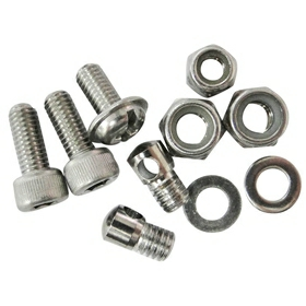 Tortec Bolt Kit: Front and Rear