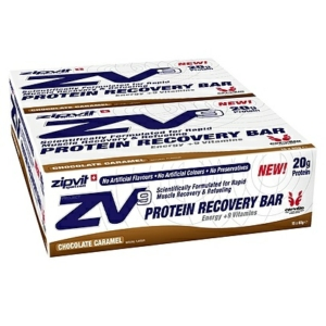 ZipVit Zv9 Protein Bars 65g Chocolate Caramel