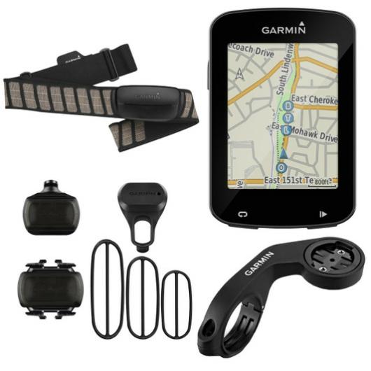 Garmin Edge 820 GPS Cycle Computer Bundle