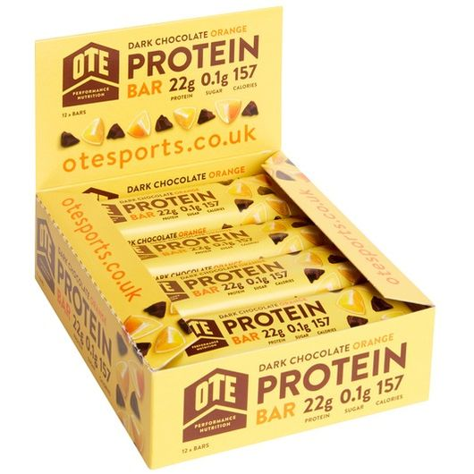 OTEs Protein Bar Box of 12 x 45g