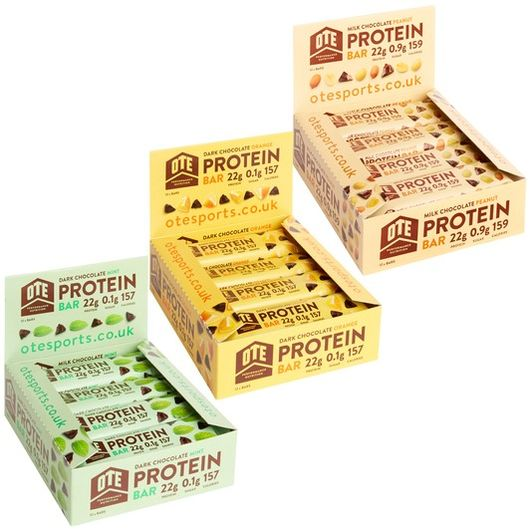 OTE Protein Bar Box of 12 x 45g