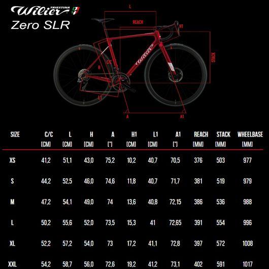 2020 Wilier Zero SLR SRAM Force AXS Disc Road Bike