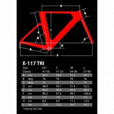 Argon 18 E-117 Ultegra Di2 TT/ Tri Bike