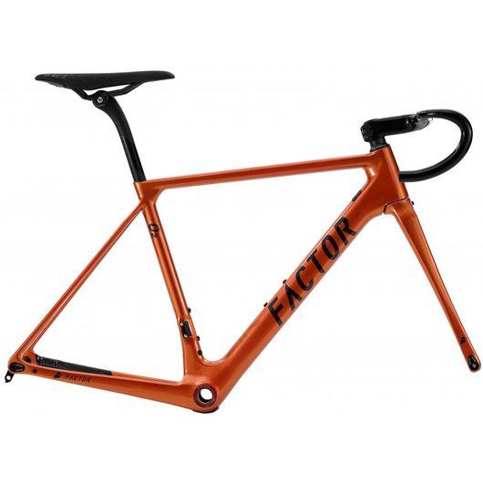 Factor O2 Frameset Burnt Orange